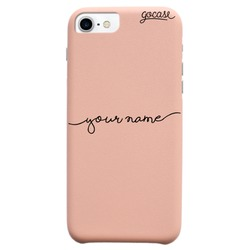 Royal Rose Handwritten (Black) Phone Case