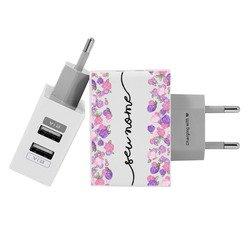 Carregador Personalizado iPhone/Android Duplo USB de Parede Gocase - Meu Arranjo by Mari Maria Makeup