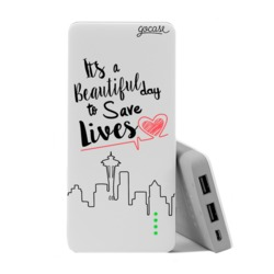 Carregador Portátil Power Bank (10000mAh)  - Save Lives