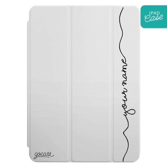 iPad case - Vertical Handwritten