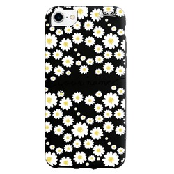Black Case  Daisies Handwritten Phone Case