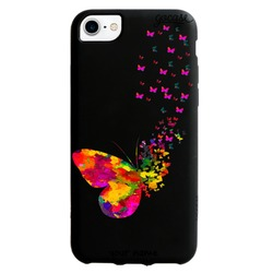 Black Case  Floating Butterflies Phone Case