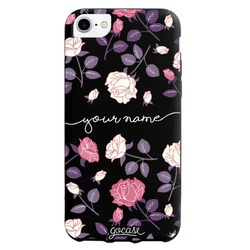 Black Case  Decor Handwritten Phone Case