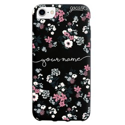 Black Case  Lovely Floral  Phone Case