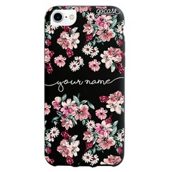 Black Case - Rose Flowers Phone Case