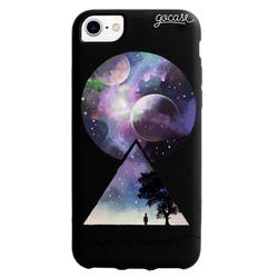 Black Case Geometric Universe Phone Case
