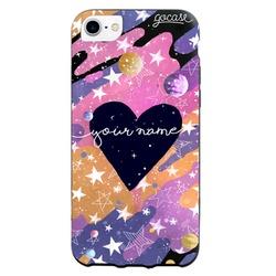 Black Case Multicolor Universe Phone Case