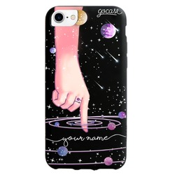 Black Case Touching The Universe Phone Case