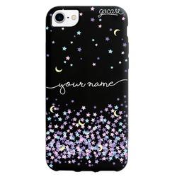 Black Case - Moon and Stars Handwritten Phone Case