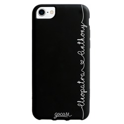 Black Case Forever Love - Hearts Phone Case