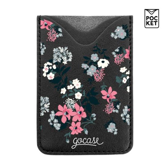 Black Pocket Lovely Floral