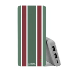 Carregador Portátil Power Bank (10000mAh) - Camisa de time - Tricolor 2