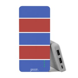 Carregador Portátil Power Bank (10000mAh) - Camisa de time - Tricolor 3