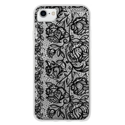 Flower Lace Black Phone Case