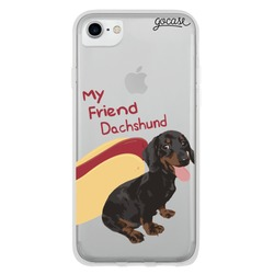 My Friend Dachshund Phone Case