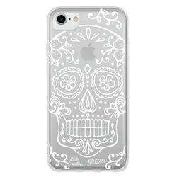 Capinha para celular White Skull