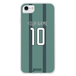 Team jersey - Green Stripes Phone Case