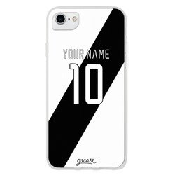 Team jersey - White/Black Shield Phone Case