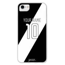 Team jersey - Black/White Shield Phone Case
