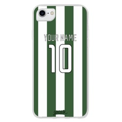 Team jersey - Green/White Stripes Phone Case