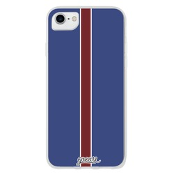 Team jersey - Blue White/Red Thin Lines Phone Case