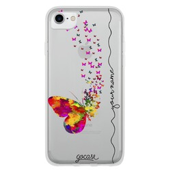 Floating Butterflies Handwritten Phone Case