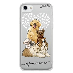 Cute Puppies Handwritten Phone Case