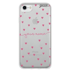 Pattern Pink Hearts  Phone Case
