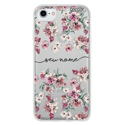 Capinha para celular Flores Rosê