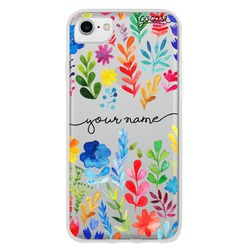Multicolor Handwritten Phone Case