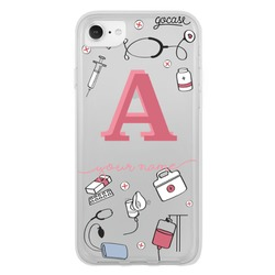 Cares of Medicine - Initial Handwritten Phone Case