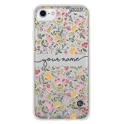 Spring Flowers Handwritten Phone Case