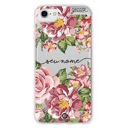 Capinha para celular Flores de Primavera Manuscrita
