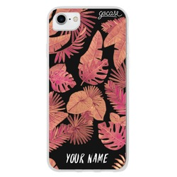 Red Tropical Phone Case