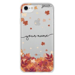 Autumn Leaves Handwritten Phone Case