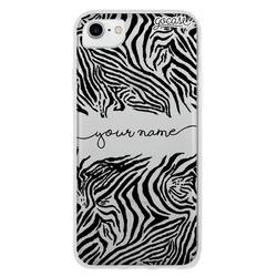 Animal Print Zebra Handwritten Phone Case