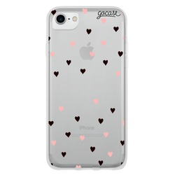 Black and Pink Hearts Phone Case