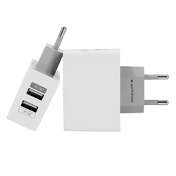 Dual Usb Wall Charger for iPhone and Android Gocase