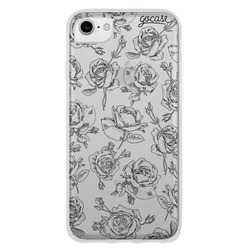 Capinha para celular Rosas Delicadas