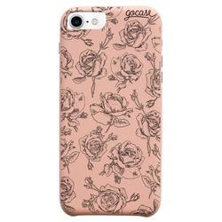 Capinha para celular Fascino - Rosas Delicadas
