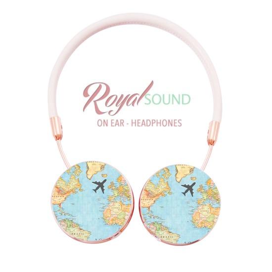 Royal Sound Headphones - World Map