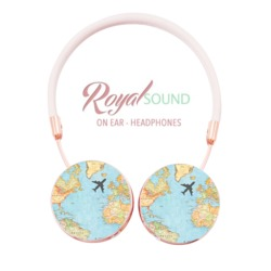 Royal Sound Headphones - World Map