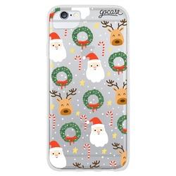 Santa and Reindeer Phone Case