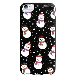 Black Case - Cute Snowman Phone Case