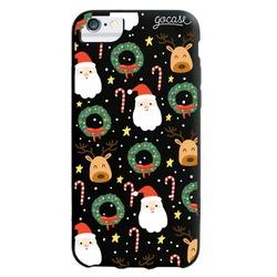 Black Case - Santa and Reindeer Phone Case