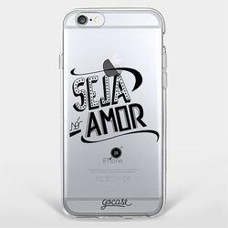 Capinha para celular Seja Amor
