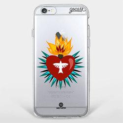 Capinha para celular Sagrado Coração
