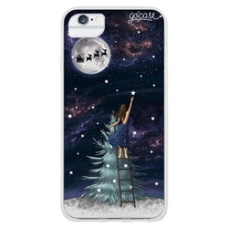 Christmas catching stars Phone Case
