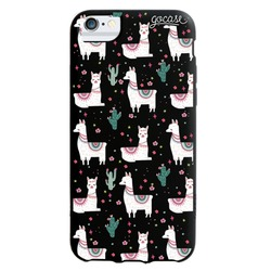 Black Case - Llama pattern Phone Case