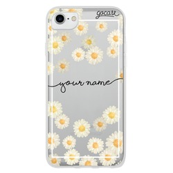 Rain of Daisies Handwritten Phone Case